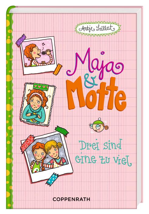 Maja & Motte 02 - Drei sind eine zu viel - Szil...