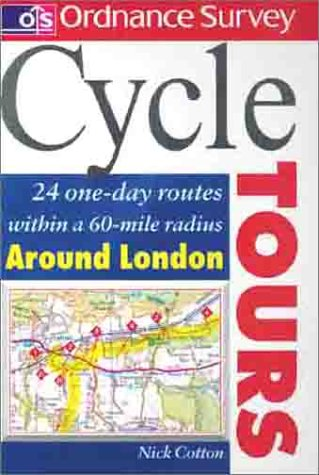 Philip´s Cycle Tours Around London: 24 One-Day Routes Within a 60-Mile Radius - Nick Cotton