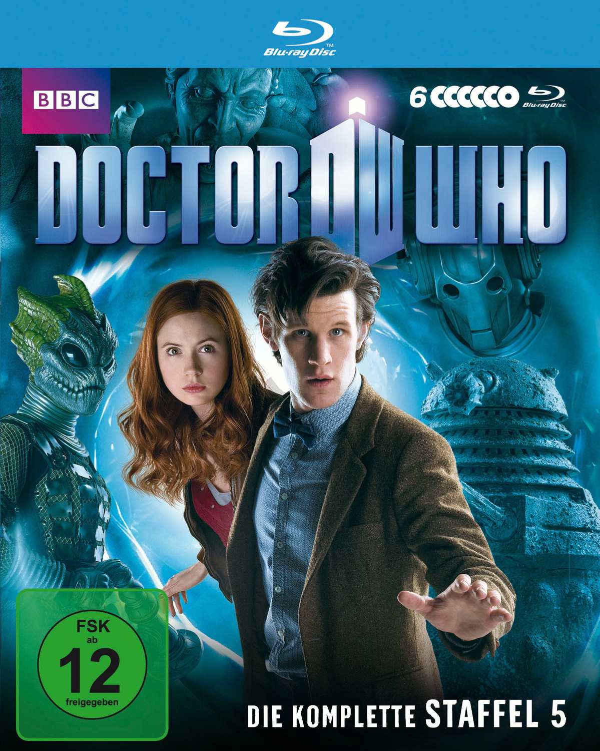 Doctor Who - Die komplette 5. Staffel [6 Discs]