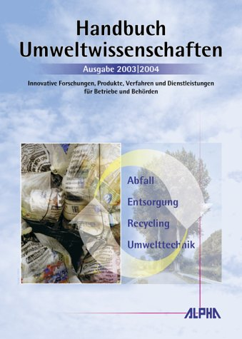 Handbuch Umweltwissenschaften: Innovative Forsc...