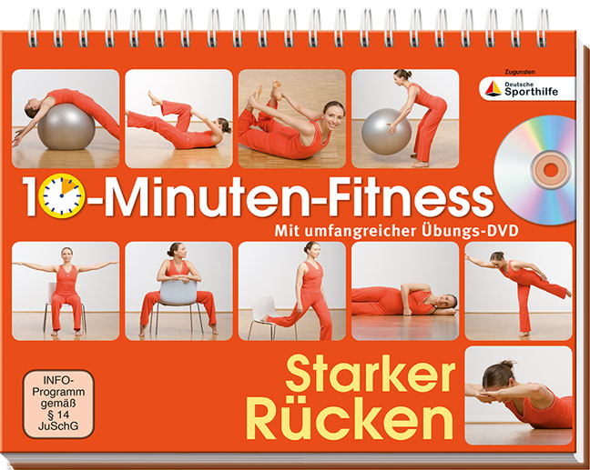 10-Minuten-Fitness Starker Rücken: Mit umfangre...