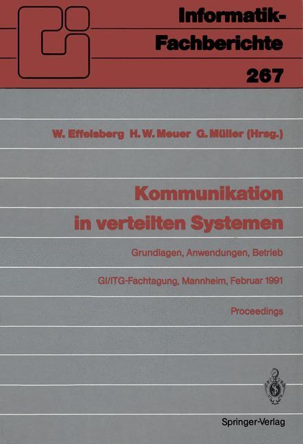 Kommunikation in verteilten Systemen: Grundlage...
