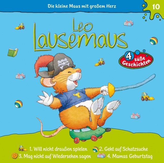 Leo Lausemaus: 4 süße Geschichten - Folge 10