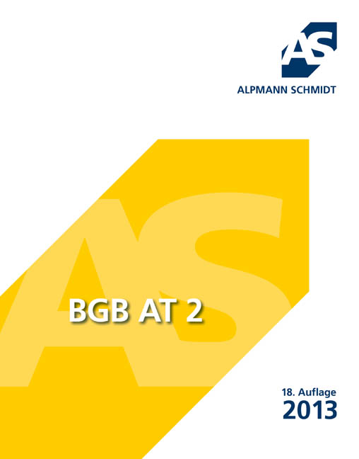BGB AT 2 - Alpmann, Josef A.