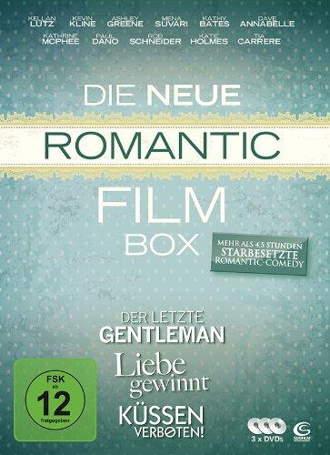 Die neue Romantic Film Box - 3 Romantic Comedy Filme in einer Box: Liebe gewinnt, Küssen verboten, Der letzte Gentleman [3 DVDs]