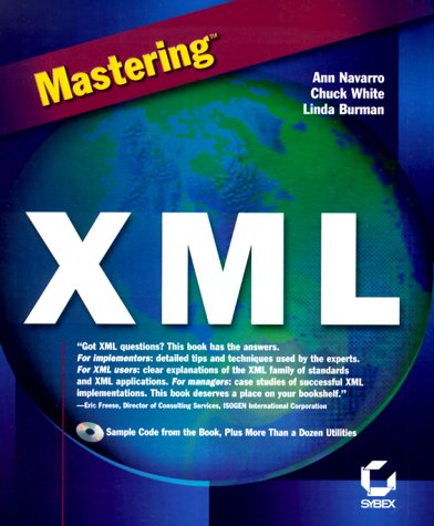 Mastering XML with CDROM - Brown, Marc