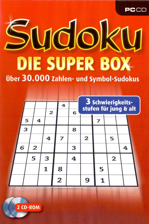Sudoku - Die Super Box: Über 30.000 Zahlen- und...