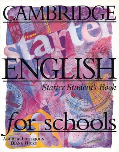 Cambridge English for Schools, Student´s Book -...