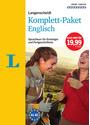 Langenscheidt Komplett-Paket Englisch: Der Sprachkurs für Einsteiger und Fortgeschrittene [3 Bücher, 8 CDs]