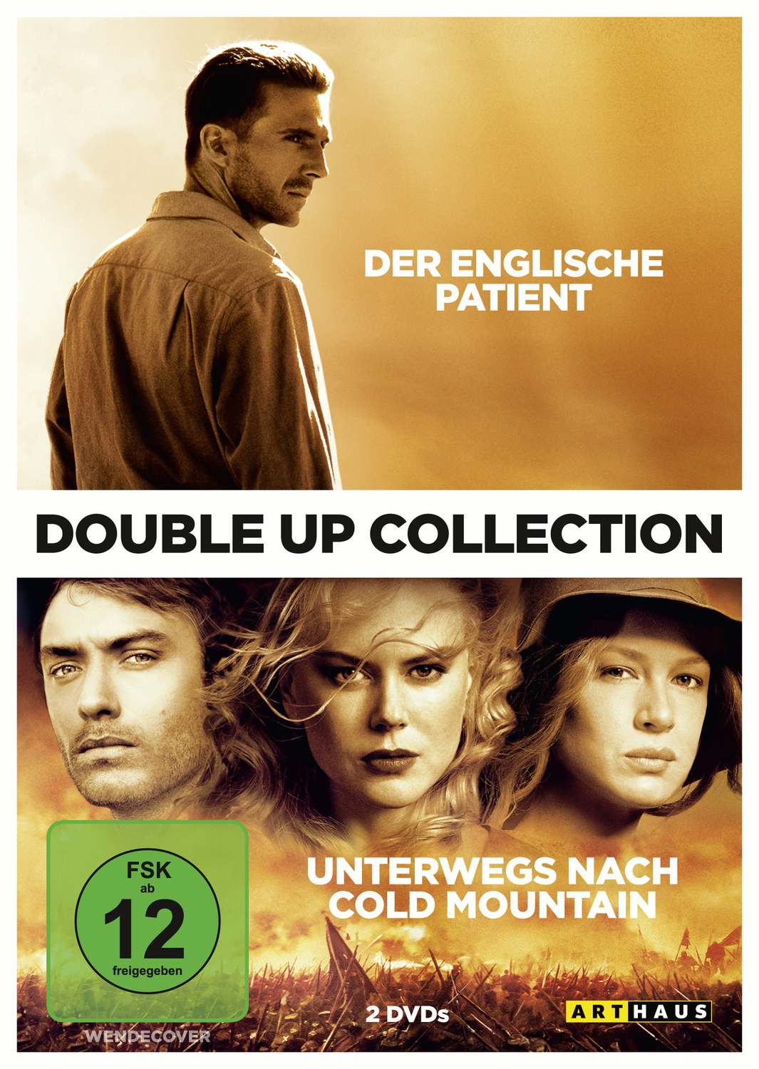 Double Up Collection: Der Englische Patient / Unterwegs nach Cold Mountain [2 DVDs]