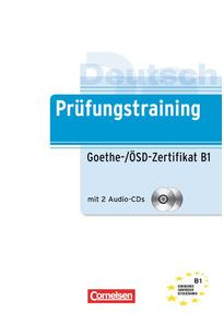 B1 Goethe ösd Zertifikat übungsbuch Mit Lösungen Und Cd