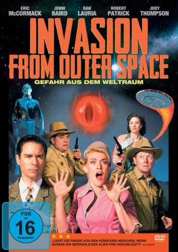 invasion from outer space Invasion from outer space part 1 is the twenty fifth episode of the television series the green hornet it is also the first of the two part series finale when visitors from outer space arrive, their spaceship collides with an air force convoy that was transporting secret electronic equipment and an.