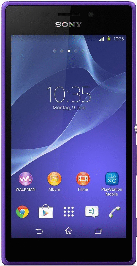 Sony Xperia M2 8GB violett