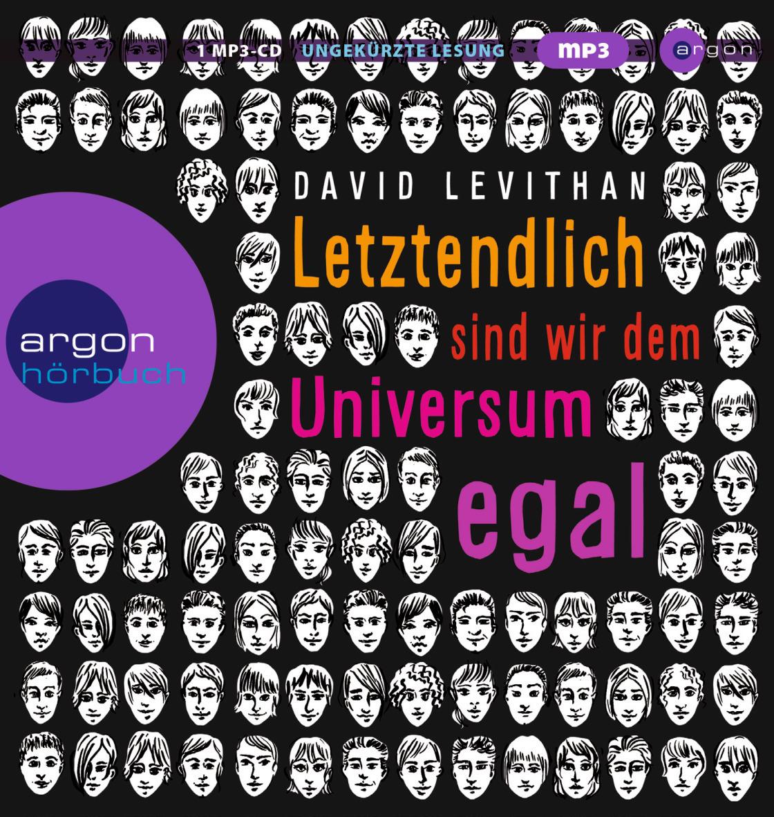 Letztendlich sind wir dem Universum egal - David Levithan [1 MP3-CD]