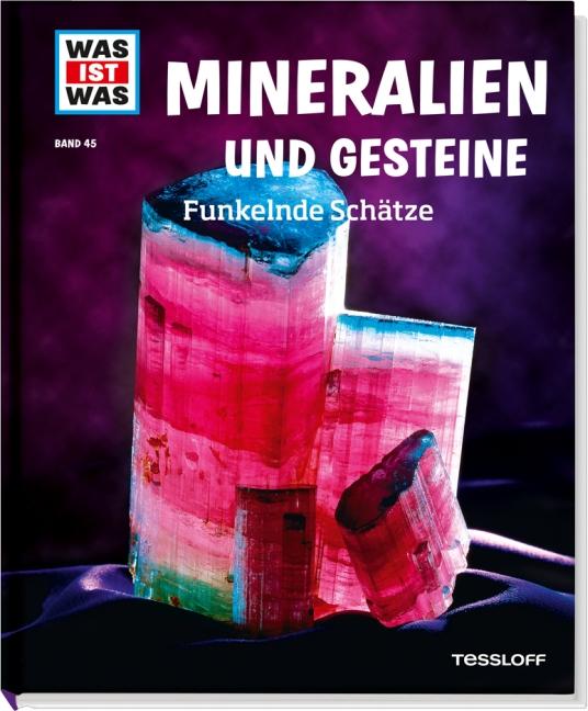 Was ist Was: Band 45 - Mineralien und Gesteine - Funkelnde Schätze - Karin Finan [Gebundene Ausgabe]
