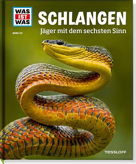 Was ist Was: Schlangen - Jäger mit dem sechsten Sinn - Band 121 - Nicolai Schirawski [Auflage 2013]