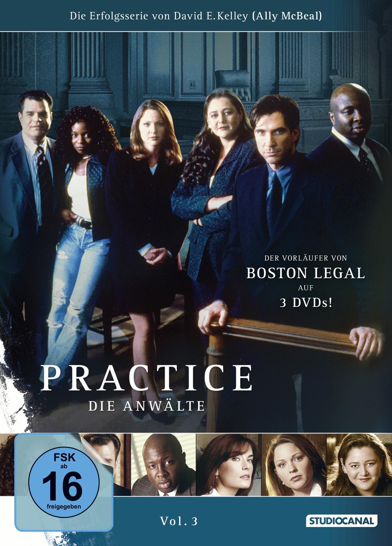 Practice - Die Anwälte Vol. 3 [3 DVDs]