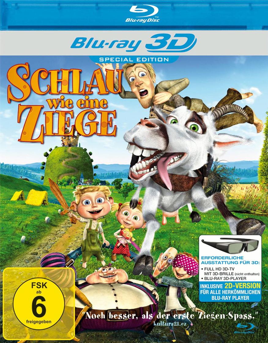 Schlau wie eine Ziege 3D [Special Edition]