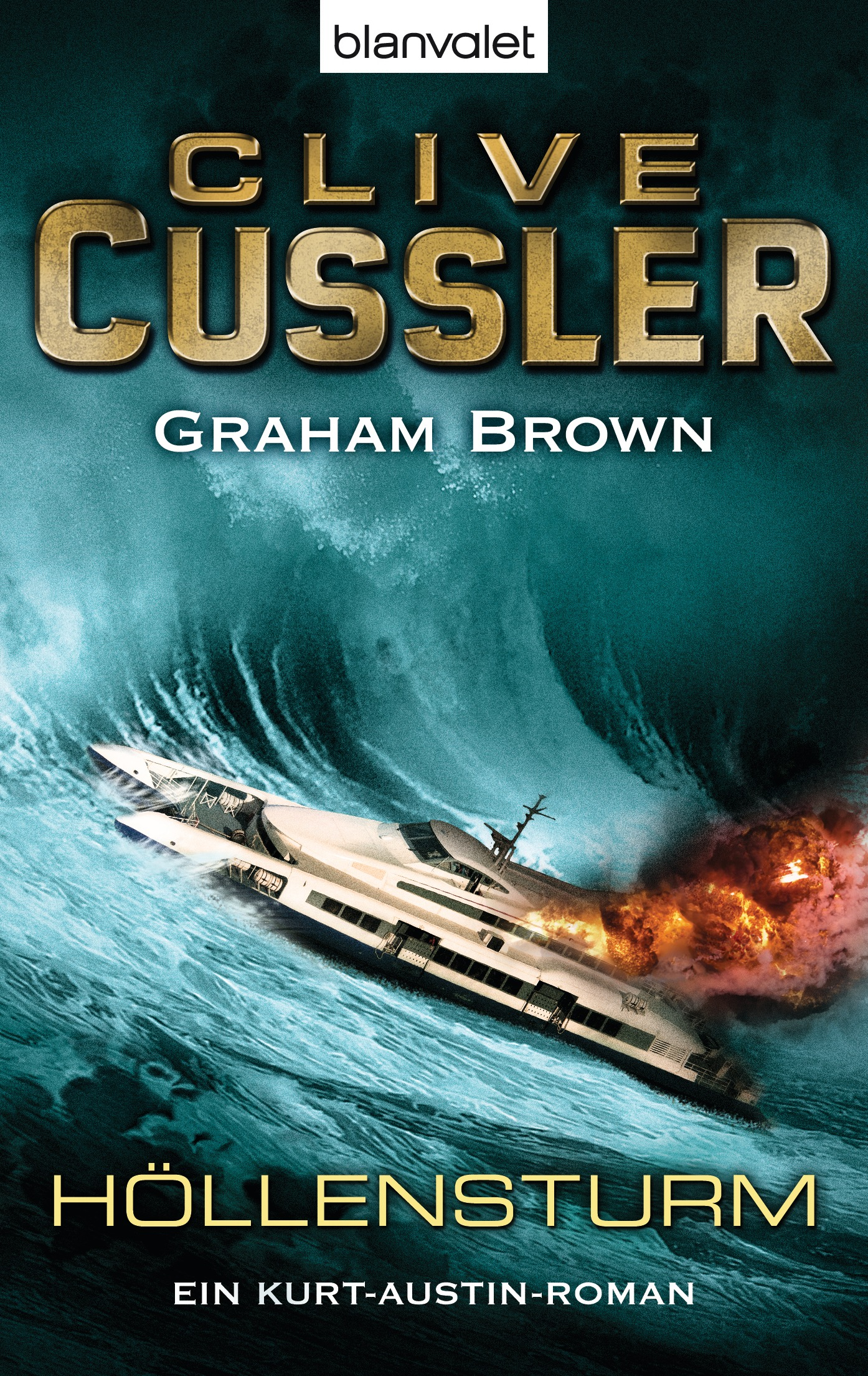 Höllensturm: Ein Kurt-Austin-Roman - Clive Cussler, Graham Brown
