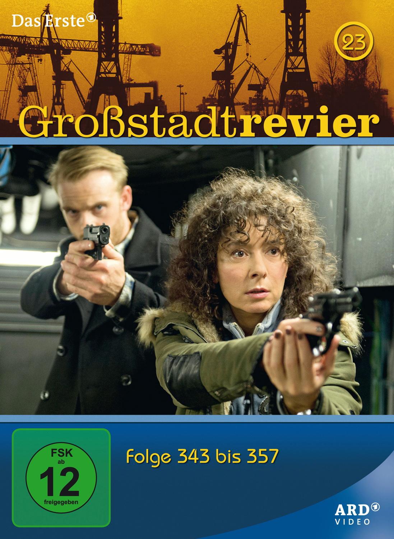 Großstadtrevier - Box 23/Folge 343-358 [4 DVDs]