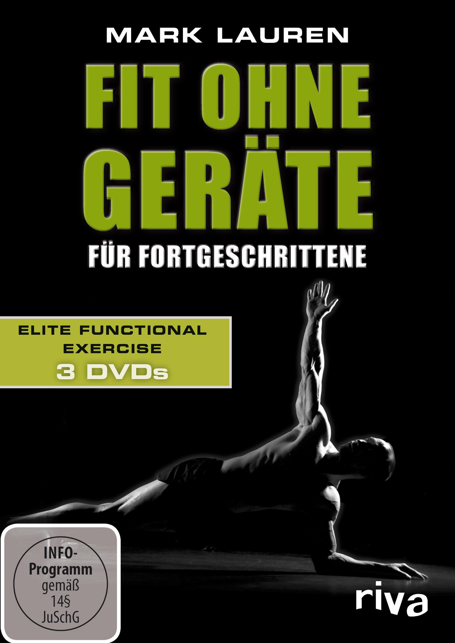 Mark Lauren - Fit ohne Geräte für Fortgeschrittene: Elite Functional Exercise [3 DVDs] - Mark Lauren