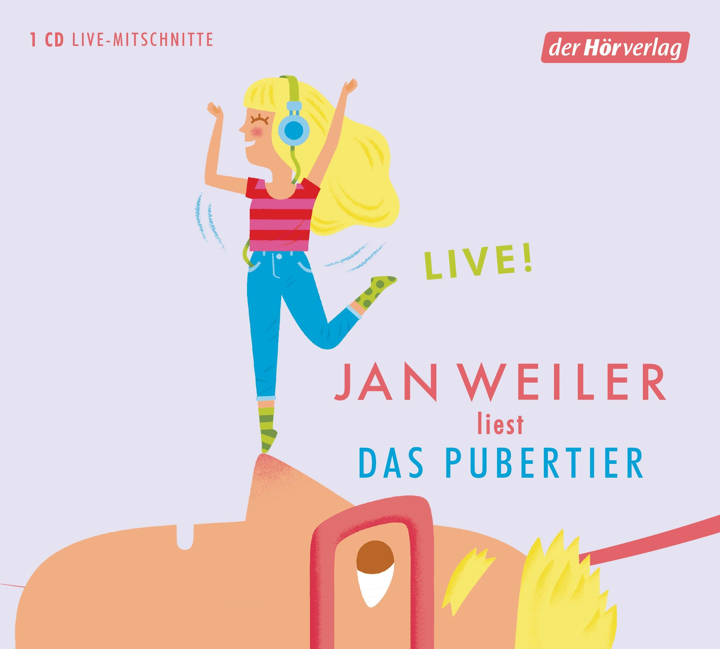 Das Pubertier - Jan Weiler [Audio CD]
