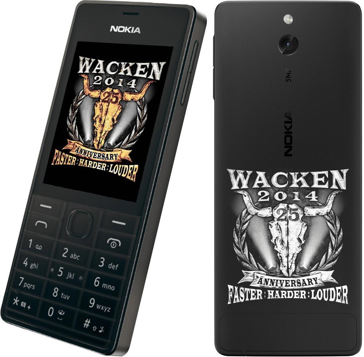 Nokia 515 [Wacken Edition] schwarz
