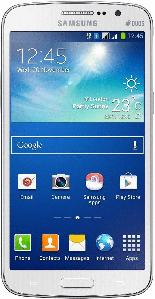 Samsung G7102 Galaxy Grand 2 DuoS 8GB weiß