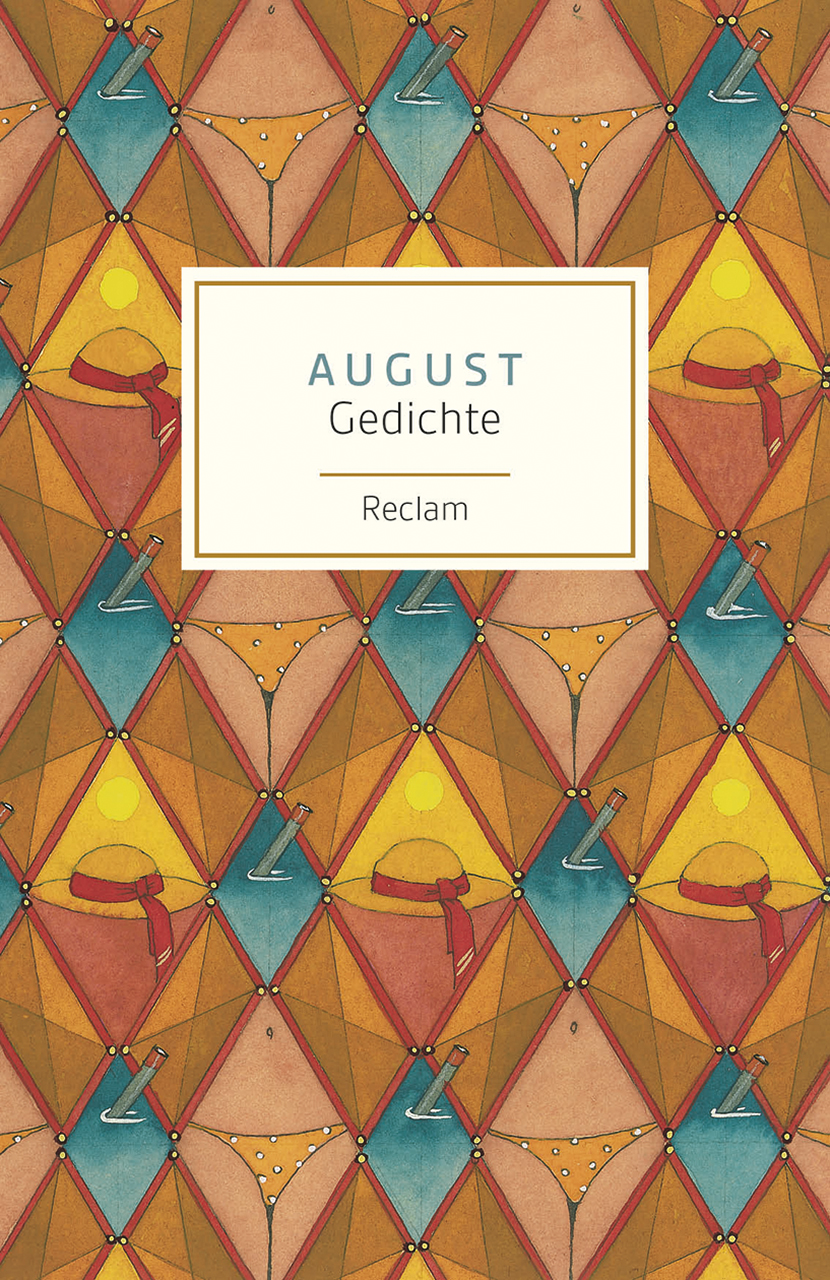August: Gedichte - Evelyne Polt-Heinzl, Christine Schmidjell (Hrsgs.)