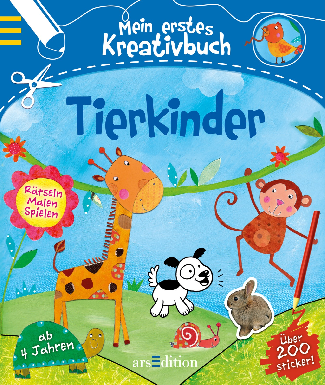 Mein erstes Kreativbuch Tierkinder