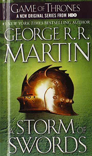 A Song of Ice and Fire: Book 3 - A Storm of Swords - George R. R. Martin [Bibliothekseinband]