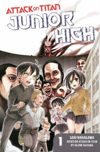 Attack on Titan: Junior High 1 [Englische Ausgabe]