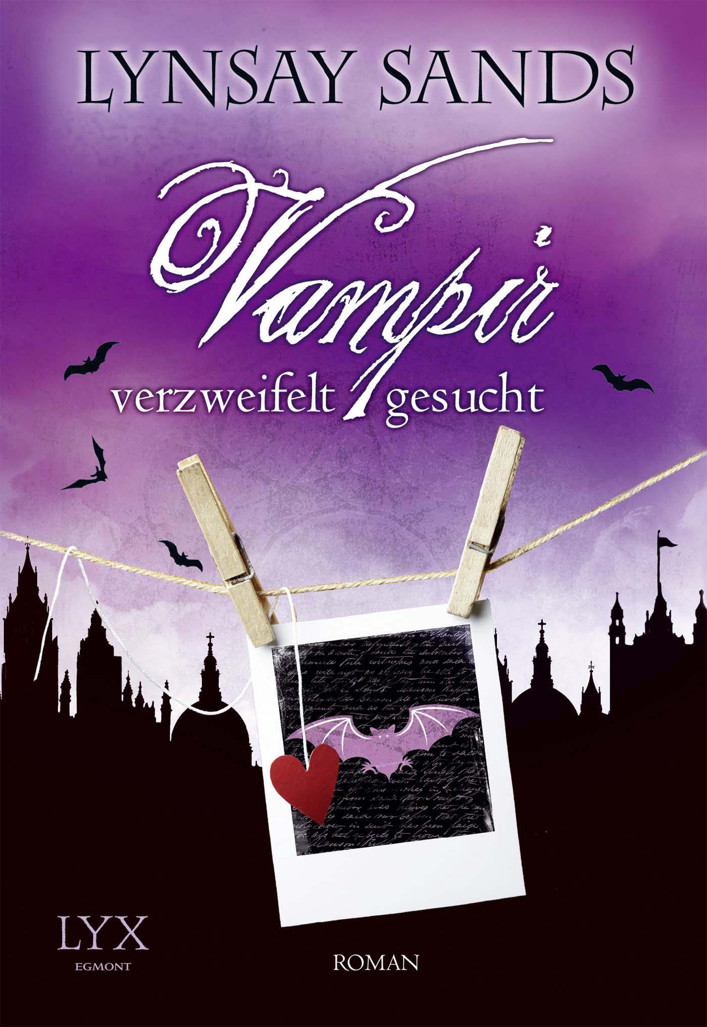 Vampir verzweifelt gesucht - Lynsay Sands [Taschenbuch]