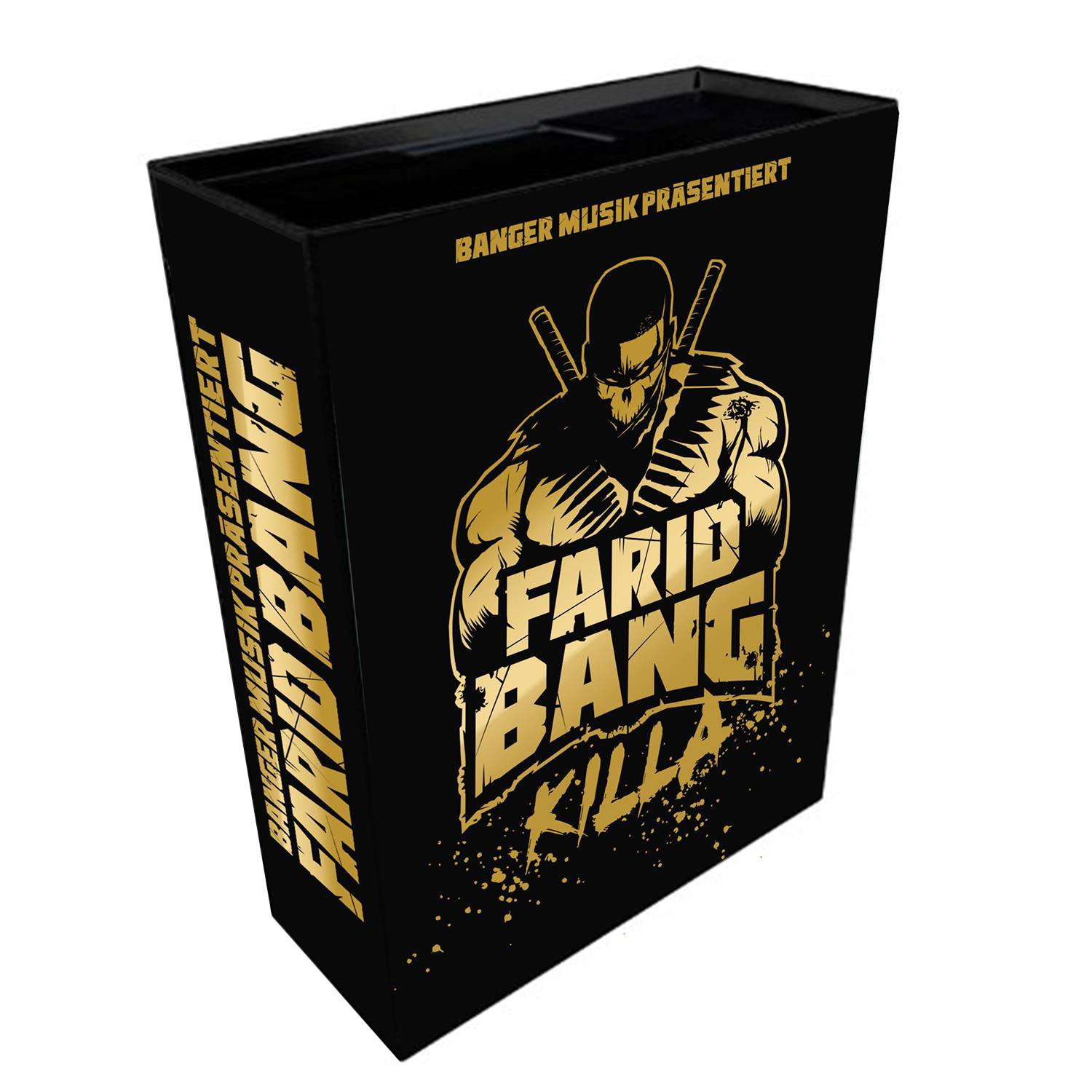 Farid Bang - Killa [Limited-Fan Edition inkl. 3 CDs, USB Stick, T-Shirt, Poster & Sticker]