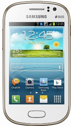 Samsung S6812 Galaxy Fame Duos 4GB wit