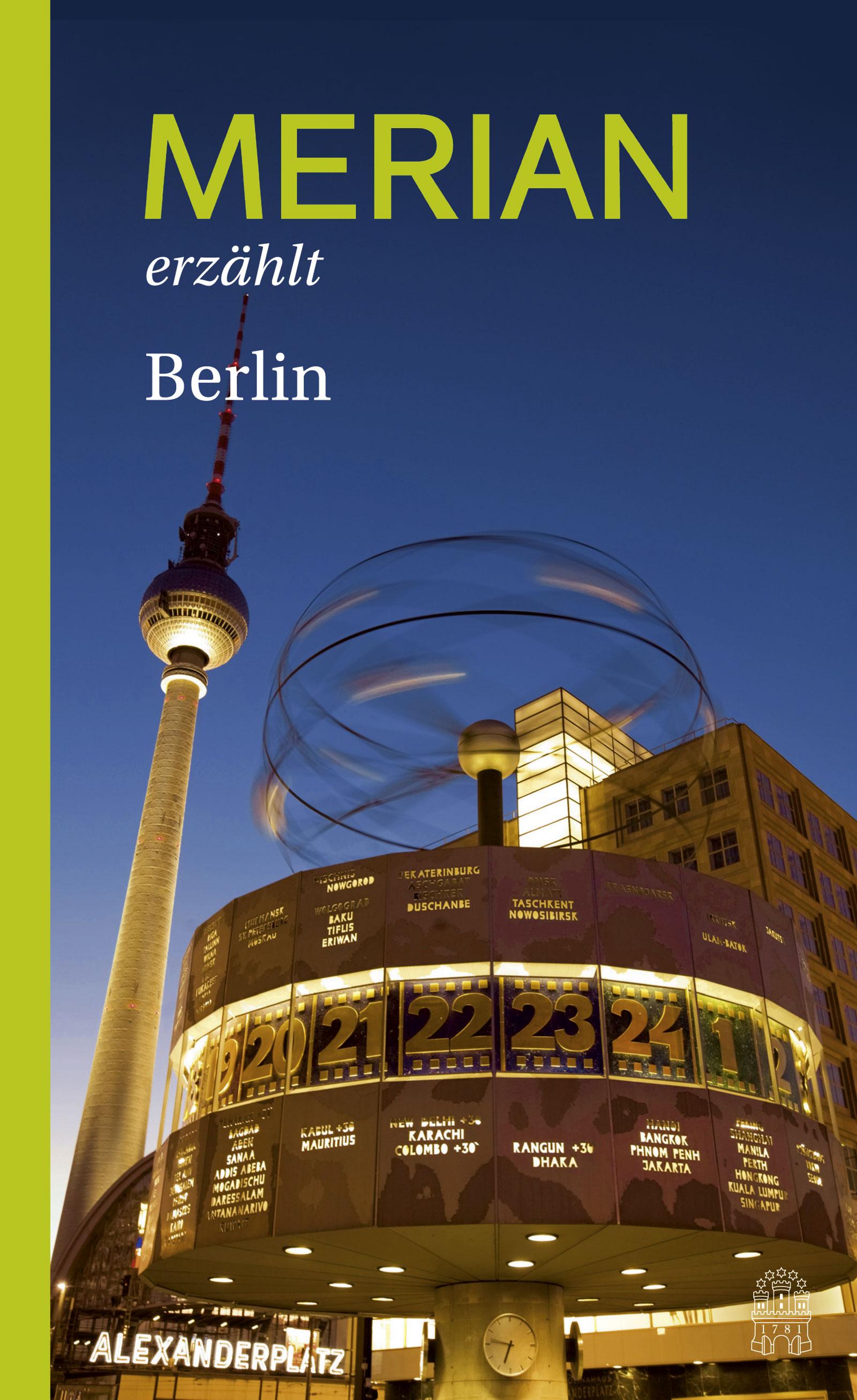 MERIAN erzählt Berlin - Hallaschka, Andreas