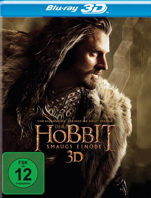 Der Hobbit: Smaugs Einöde 3D [4 Discs, inkl. 2D Version]