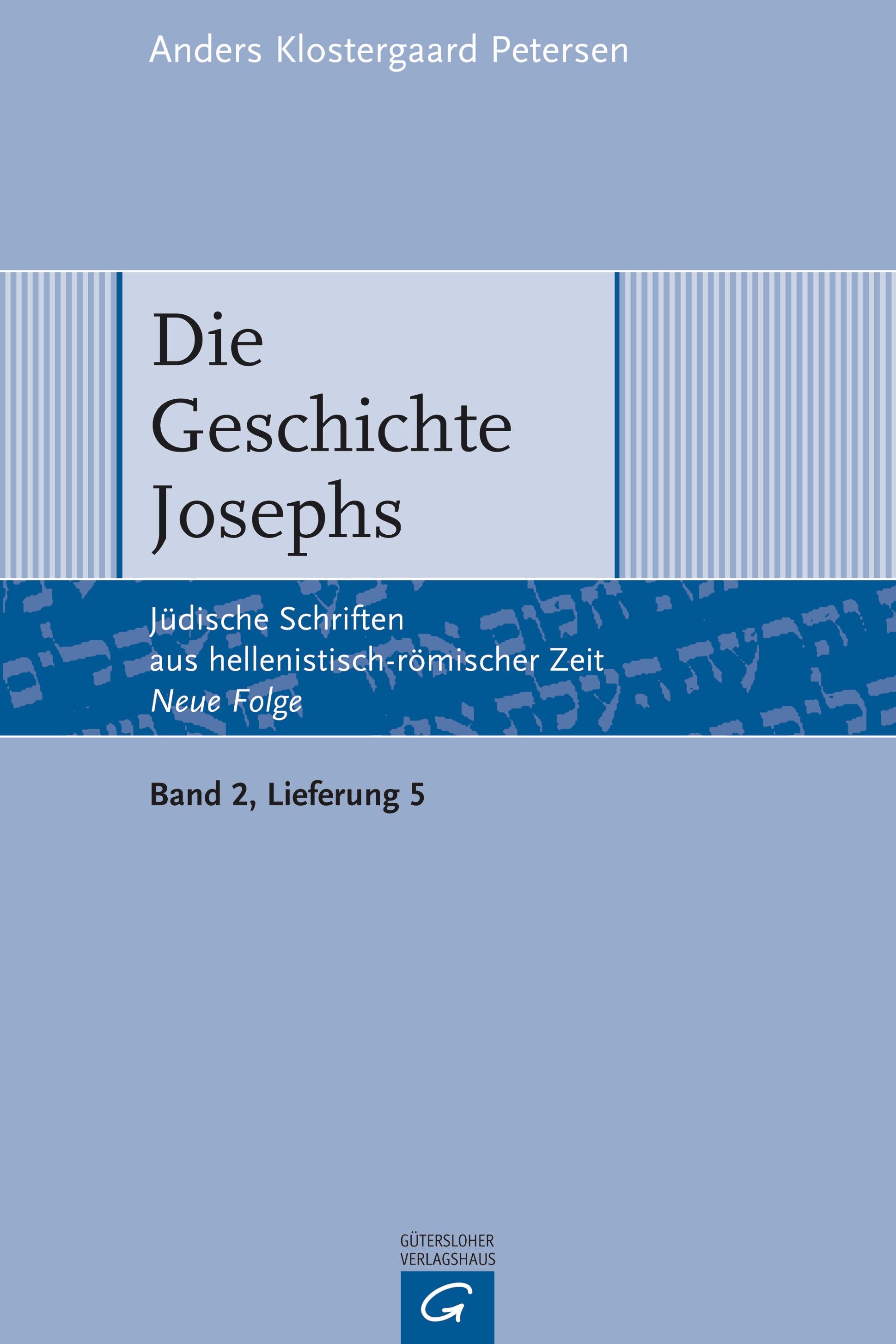 Die Geschichte Josephs - Anders Klostergaard Petersen