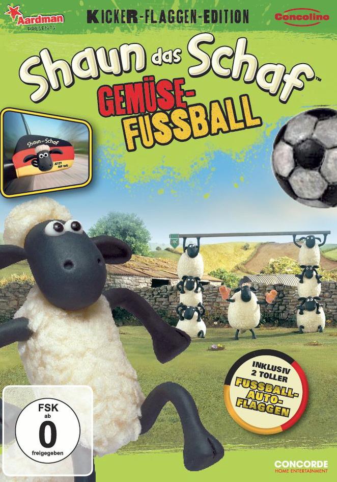 Shaun das Schaf - Gemüsefußball [Kicker-Flaggen-Edition inkl. Auto Flaggen]