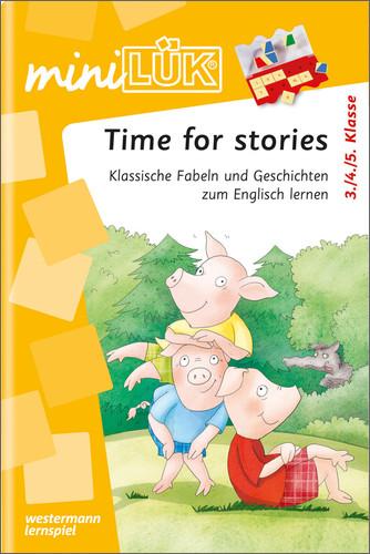 miniLÜK: Englisch / Time for Stories: Kurze Ges...