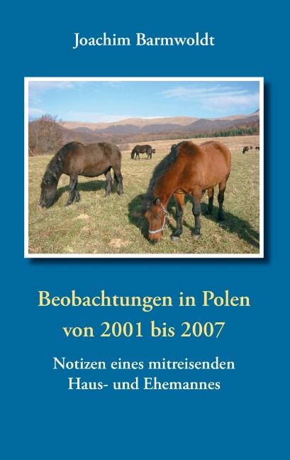 Beobachtungen in Polen: von 2001 bis 2007 Notizen eines mitreisenden Haus- und Ehemannes - Joachim Barmwoldt