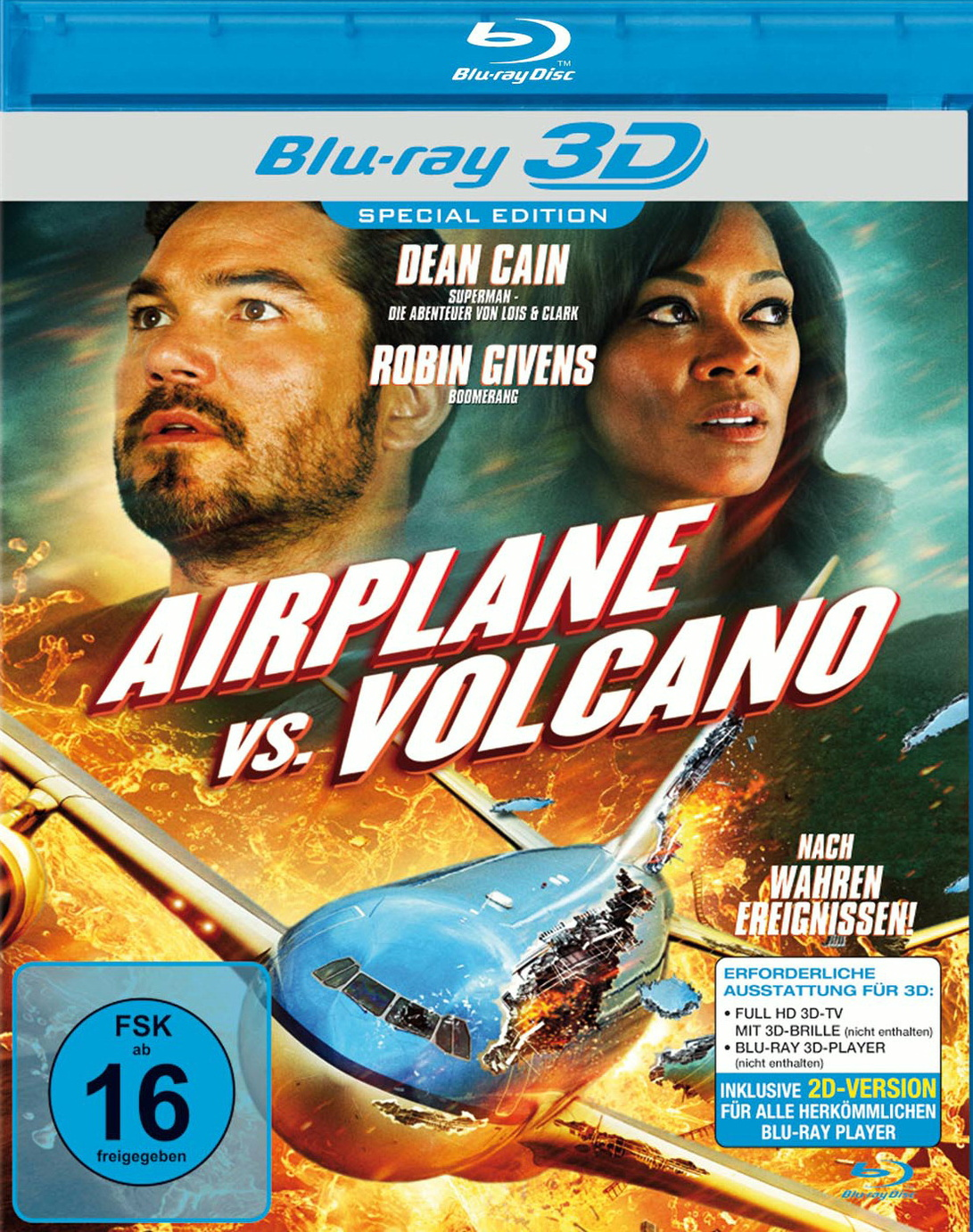 Airplane vs. Volcano 3D [Special Edition]