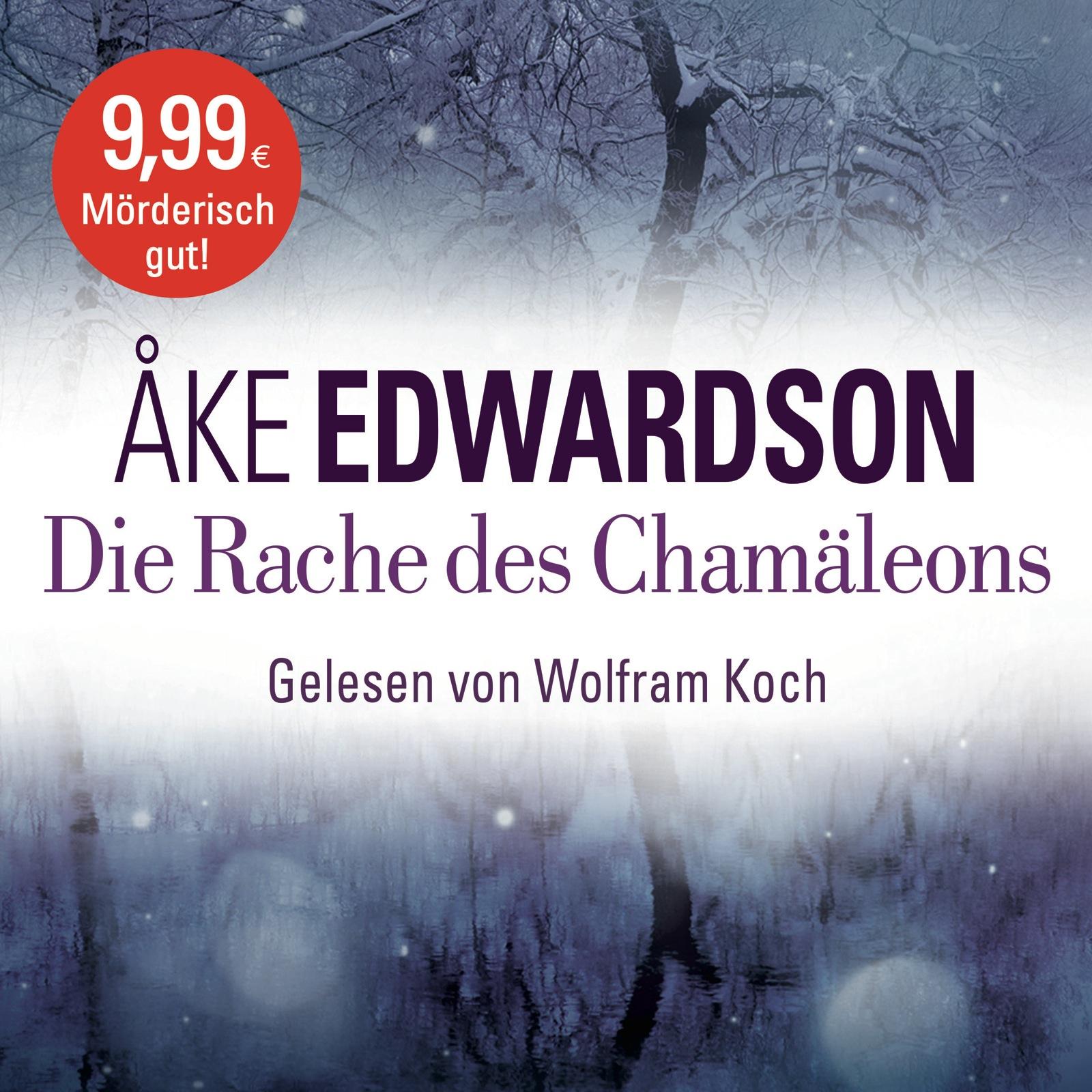 Die Rache des Chamäleons - Åke Edwardson [6 Audio CDs]