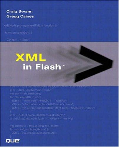 XML in Flash - Swann, Craig