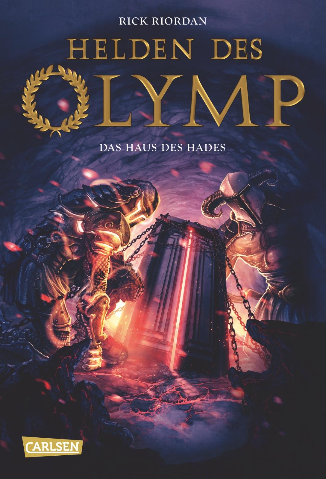 Helden des Olymp - Band 4: Das Haus des Hades - Rick Riordan [Gebundene Ausgabe]