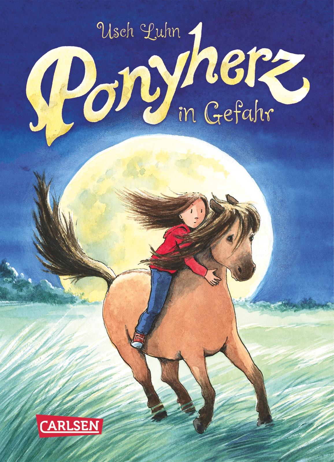 Ponyherz - Band 2: Ponyherz in Gefahr - Usch Luhn