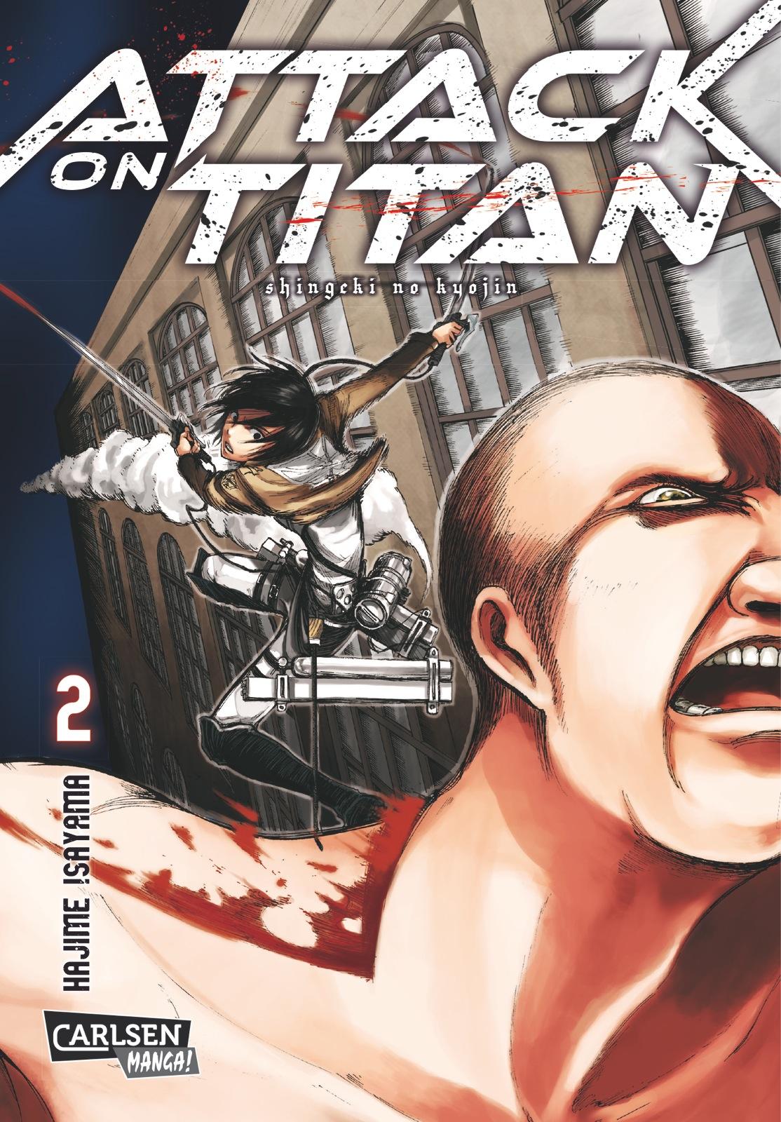 Attack on Titan, Band 2 - Isayama, Hajime