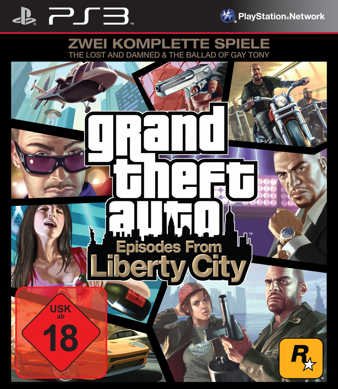 Grand Theft Auto - Episodes from Liberty City (...
