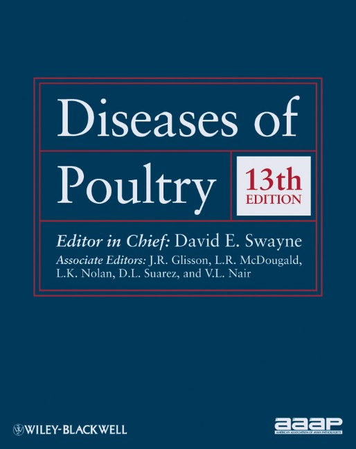 Diseases of Poultry - David E. Swayne [Hardcover, 13th Edition 2013]