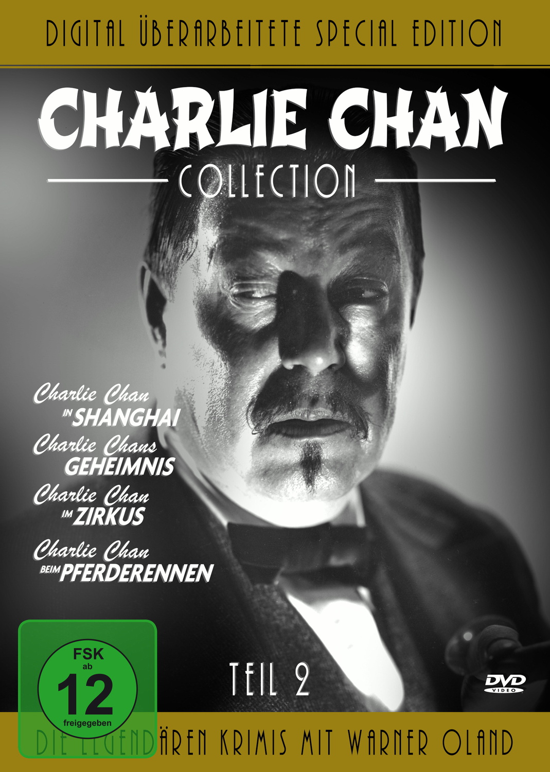 Charlie Chan Collection - Teil 2 [Special Edition, 4 DVDs]